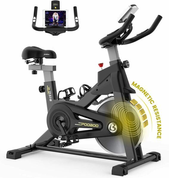 Indoor Exercise Bike Home Gym Bicycle Cycling Cardio Fitness Training Workout $278.99