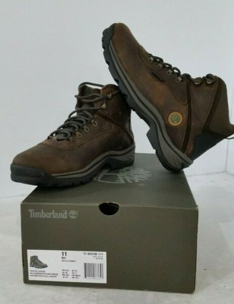 Timberland White Ledge Men#x27;s Waterproof BootDark Brown SIZE 11 $124.92