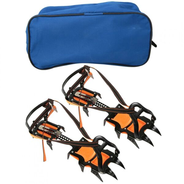 Steel Shoes Cover Ski Ice Shoes Cover Accessory Ice Cleats For Climbing Snow Ice $78.67