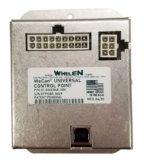 Whelen Lightbar Universal WECAN Control Point for Liberty Freedom XLP RST FST