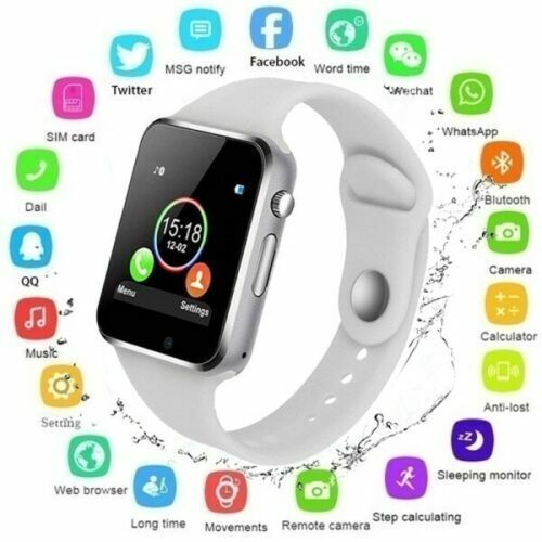 2021 Waterproof Bluetooth Smart Watch Phone Mate For iPhone IOS Android Samsung $15.99
