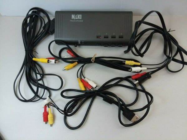 International 55725 4 System Universal Selector by Naki With Cables $20.00