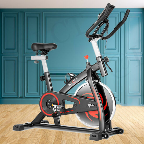HEKA Stationary Exercise Bicycle Indoor Bike Cardio Home Gym Cycling Fitness amp; $219.99
