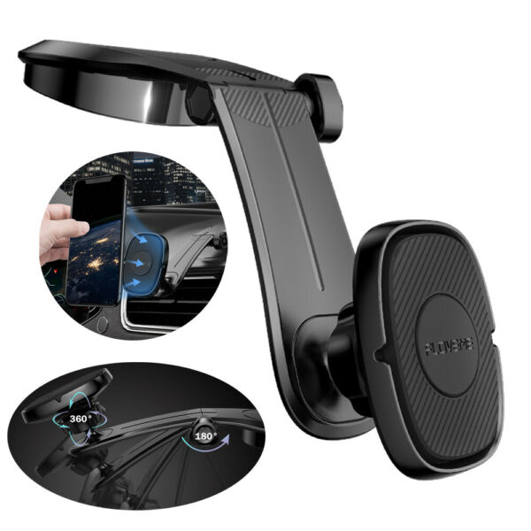 Universal 360° Magnetic Car Mount Cell Phone Holder Stand For iPhone Samsung GPS $7.65