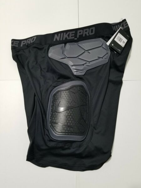 Nike Pro Hyperstrong Men#x27;s 4XL Football Compression Girdle Shorts AO6229 010