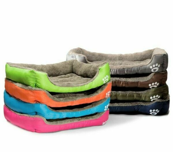 Dog House Soft Material Nest Dog Baskets Fall and Winter Warm Kennel For Cat $123.10