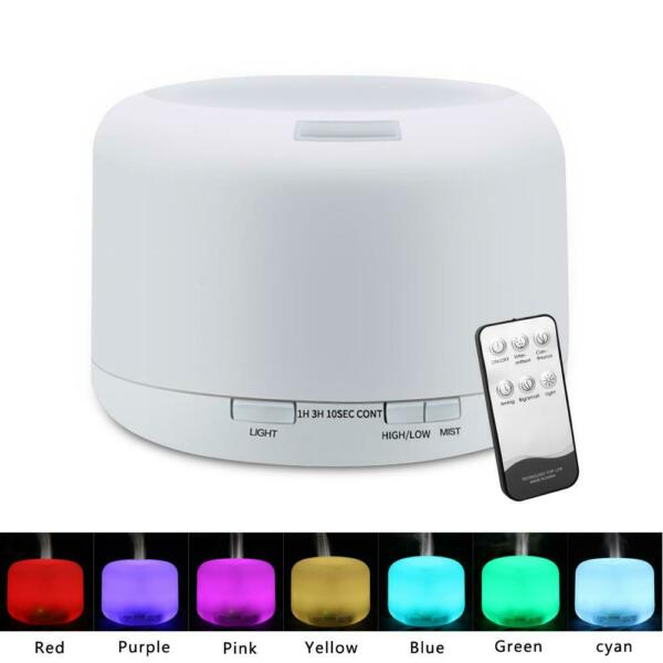 500ML Essential Oil Diffuser Humidifier Aroma Air Ultrasonic Electric Home Cup $16.85