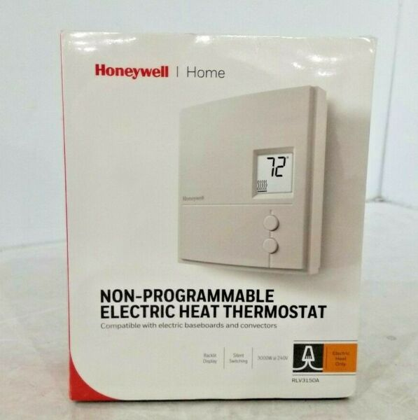 Honeywell Non Programmable Electric Heat Thermostat 240V RLV3150A $30.00