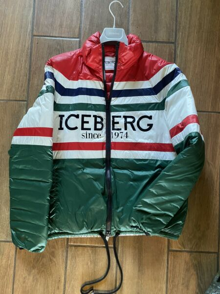 Iceberg Puffer Jacket 50 IT Size Medium US $175.00