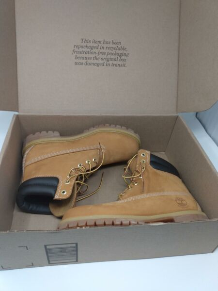 Timberland MENS Premium Waterproof Boot Wheat Nubuck 8 M US $89.95