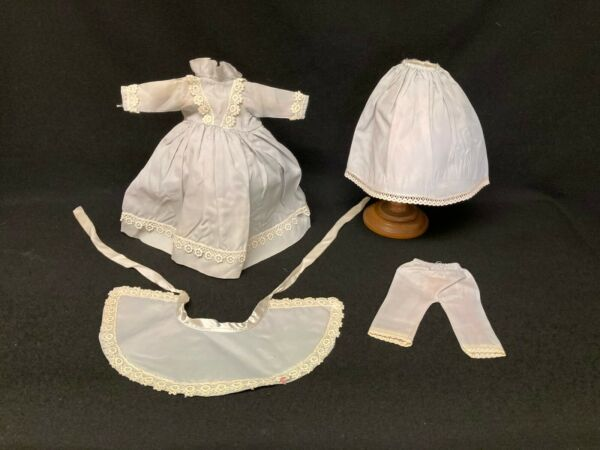Vintage Doll Costume for Small Antique DOll Four Pieces