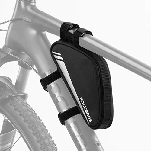 ROCKBROS Reflective Cycling Bicycle Bags MTB Road Bike Frame Front Triangle Bag $15.99