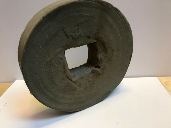 Small Antique Mill Stone Grinding Wheel