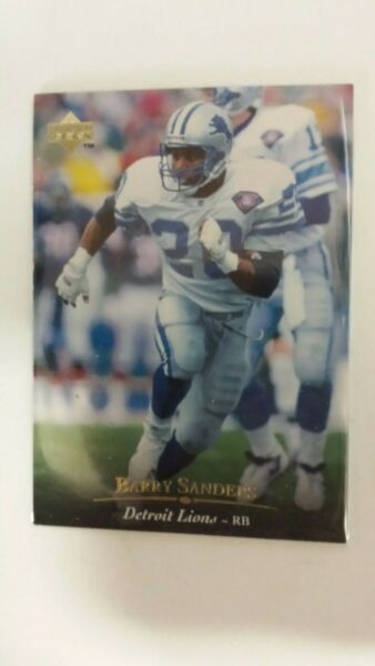 1995 Upper deck Electric Gold Barry Sanders #94 $12.99