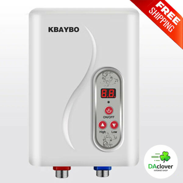 Instant Electric Water Heater Tankless Water Heating Moment Hot 7000W Energy $131.99