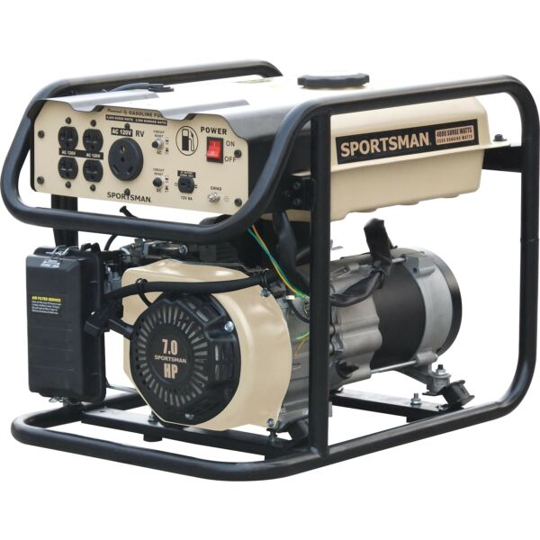Sportsman Sandstorm Gasoline 4000 Watt Portable Generator Not CARB Approved