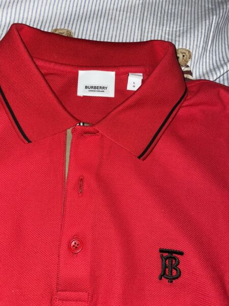 Burberry Polo size L $215.00