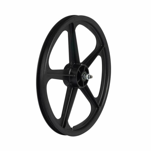 Skyway Tuff II 20quot; 5 Spoke Black Wheel Front and Rear 20#x27;#x27; 406 Bolt on F $106.65