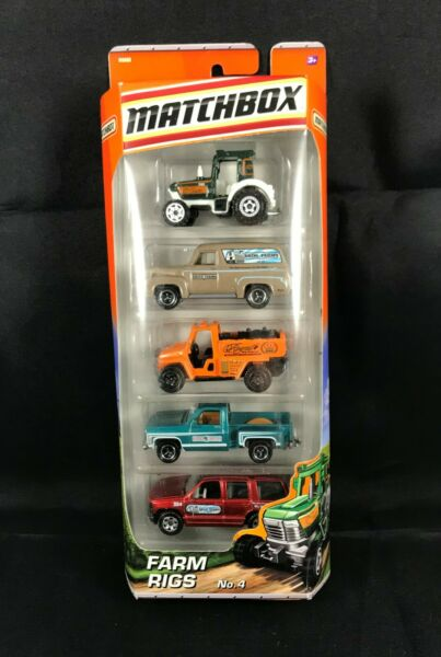 Matchbox Farm Rigs No. 4 Package of 5 Vehicles $20.95