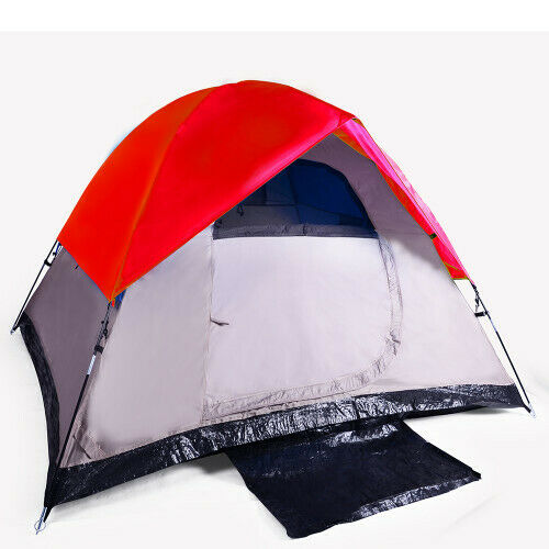 3 Man Camping Tent RED