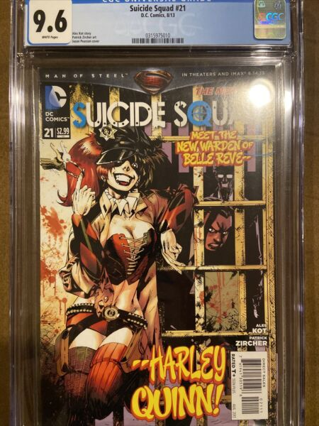 Suicide Squad #21 9.6 CFC 2012 New 52 DC Comics great harley cover $60.00