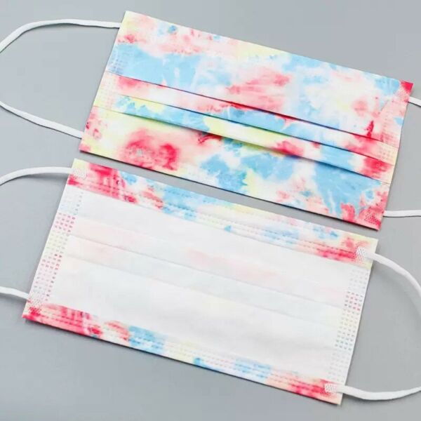 10Pcs Multicolor Disposable for Adults Breathable 3 Ply Face Mouth Masks $9.99