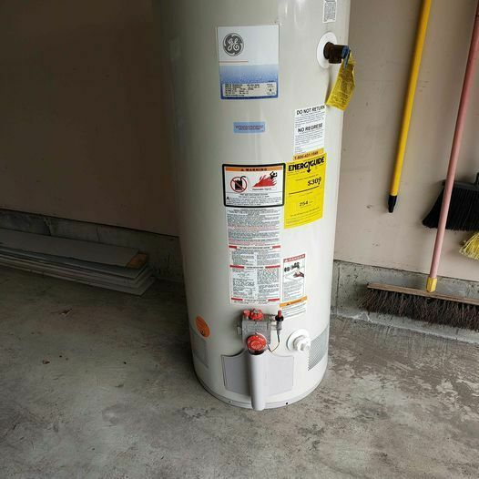 Water Heater Natural Gas Local Only $150.00