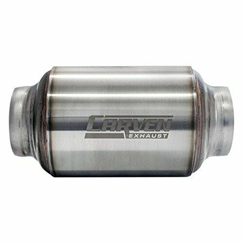 Carven Exhaust R Series 3quot; Performance Muffler Free Shipping