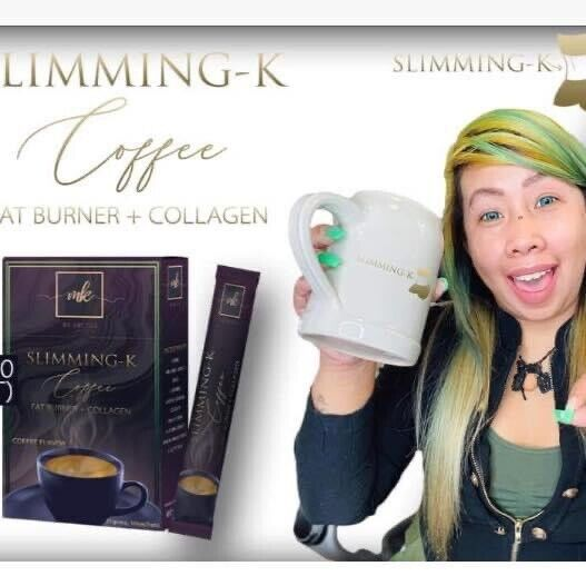 100% Authentic Slimming K Coffee By Madam Kilay 10 Sachets box.3 Boxes Is $45