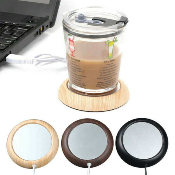 USB Heat Heater Milk Tea Coffee Mug Warmer Office Cup Mat Pad Coaster* $13.99