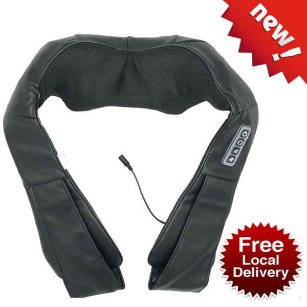 Nekteck Shiatsu Neck and Back Massager with Soothing Heat for Muscles Pain Relax $32.99