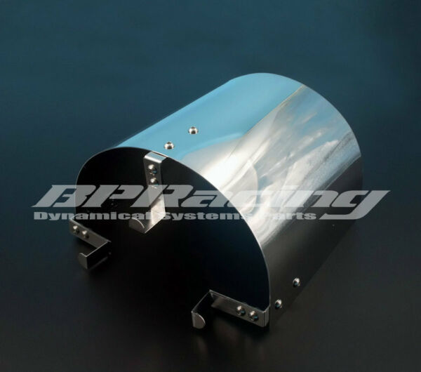 160mm Tall Stainless Steel Air Filter Heat Shield For 2.25quot; TO 3.5quot; Cone Filter $12.00