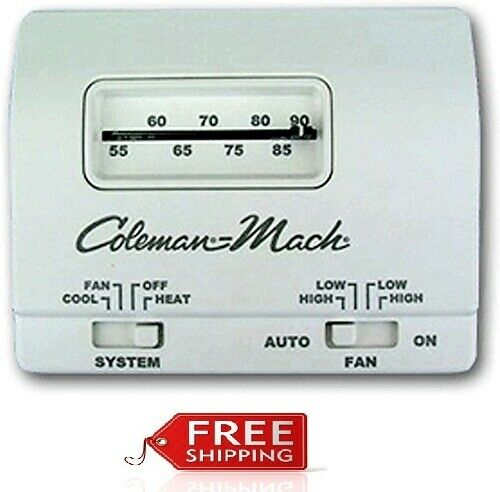 Coleman Mach 7330G3351 Wall Thermostat or Heat Cool Control $73.33