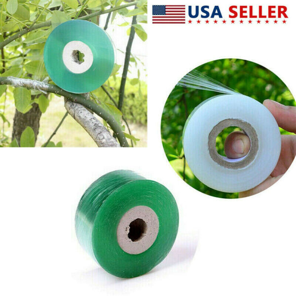Clear Grafting Tape Stretchable Soft For Garden Seedling Pruning Tool 100m 120m $5.99