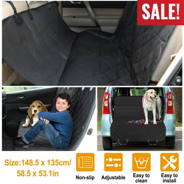 Dog Back Seat Cover Protector Pet Waterproof Scratchproof Nonslip For Car amp; SUV $21.55