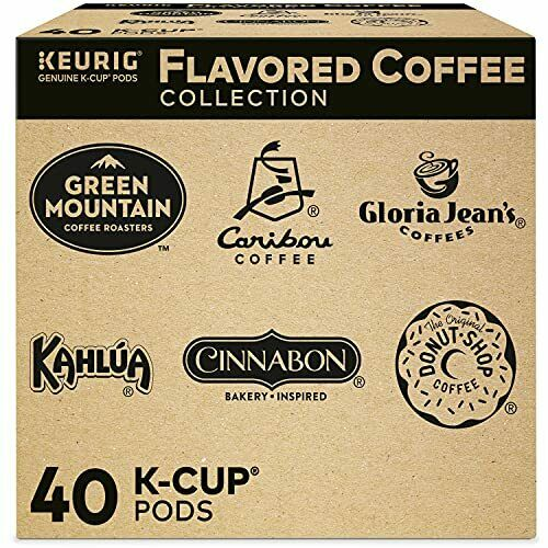 Keurig Flavored Coffee Collection Flavored Lover#x27;s Single Serve Coffee K Cup Po
