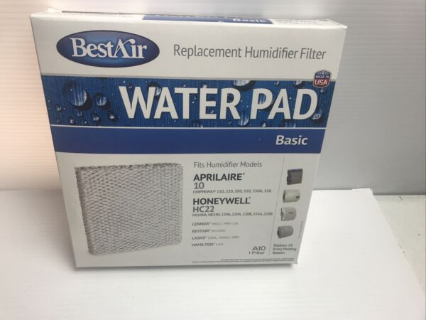 BestAir A10 Furnace Humidifier Water Pad $14.79