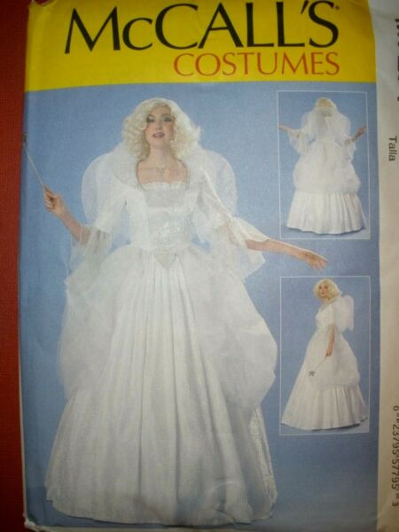 MCCALLS PATTERN 7271 FAIRY GODMOTHER ANGEL COSTUMES 6 14 or 14 22 UC $7.50