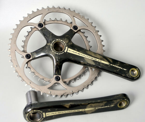 Campagnolo Chorus Carbon 11 Speed Crankset 53 39t Chainrings 172.5mm Road Bike $189.99