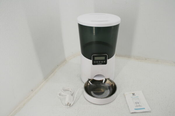 SEE NOTES PetSafe Healthy Pet Simply Feed Automatic Dog Cat Feeder Slow Feed $45.55