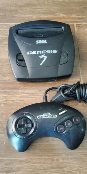 SEGA Genesis model 3 System. UNTESTED selling as is. Console amp; Controller. $29.99