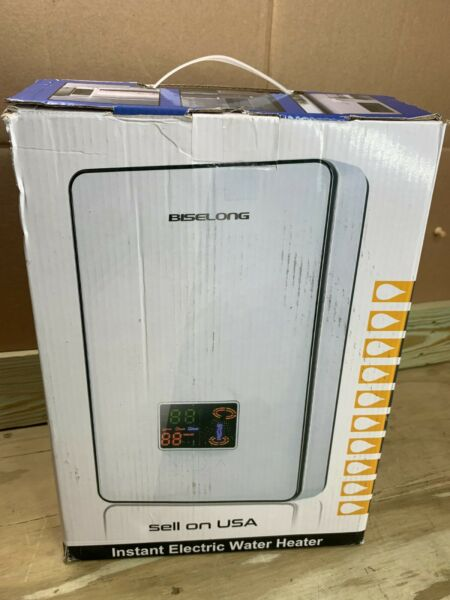 Biselong Instant Tankless Electric Water Heater ECO65 220 240V $59.99