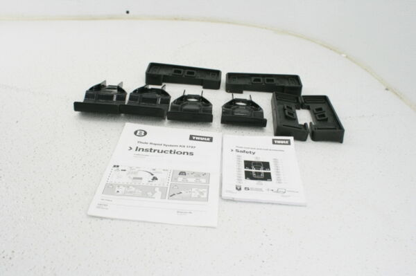 Thule Roof Rack Rapid System Fit Kit for Ford Escape Vehicles Kit 1737 Black $88.39
