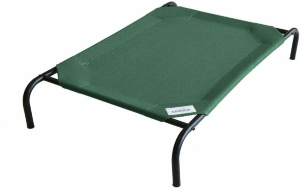 Large Dog Bed Elevated Outdoor Raised Pet Cot Indoor Durable Steel Frame NEW $31.99