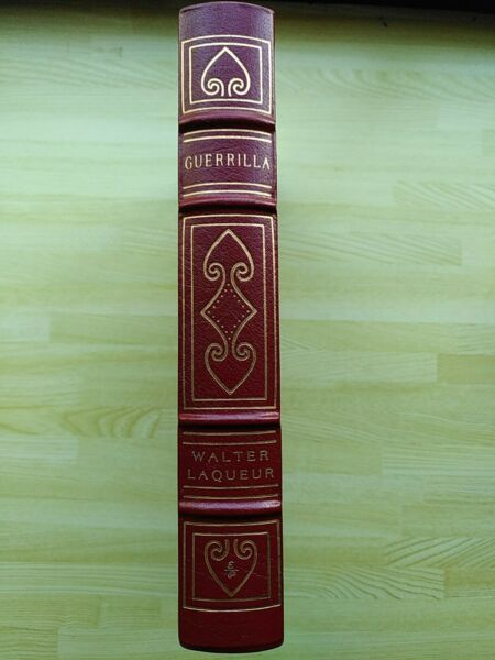 Easton Press Guerrilla by Walter Laqueur. Military history. Leather bound book $50.00