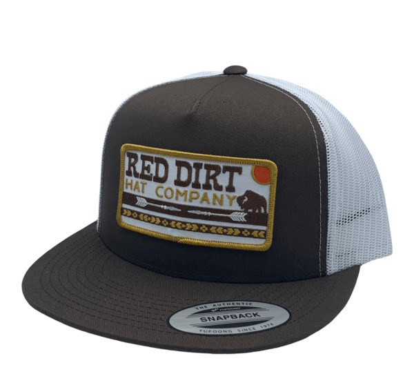 RED DIRT ARROWS – BROWN WHITE HATS CAP RDHC165 $28.95