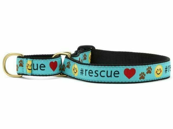 Up Country Rescue Martingale Dog Collar $26.50