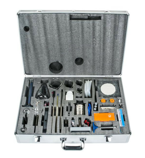 Heat System Physics Kit with Case 15 Experiments 54 Components Eisco Labs $279.99