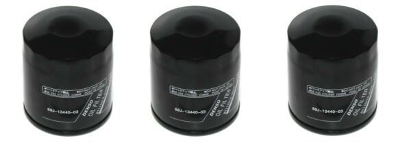 3 Pack Aftermarket Yamaha Outboard Oil Filter Replaces Yamaha 69J 13440 03 00 $21.99