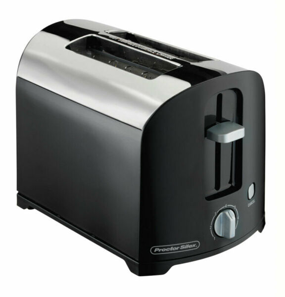 Proctor Silex 22622PS Black Toaster FREE SHIPPING